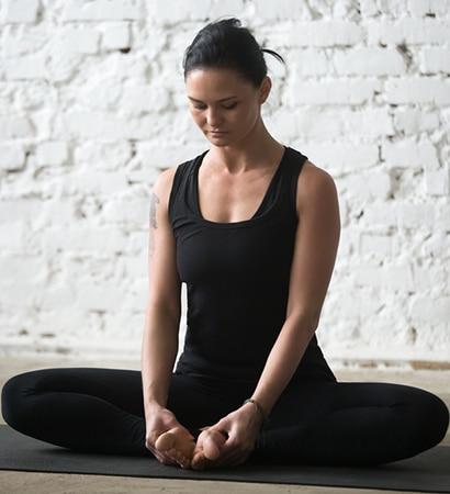 Séance de méditation en entreprise